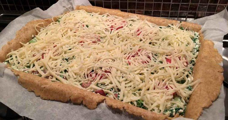 Grov grøntsagstærte