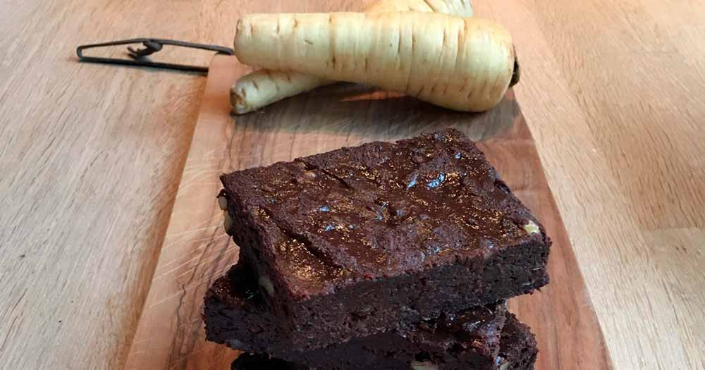 Pastinak sund glutenfri brownie opskrift