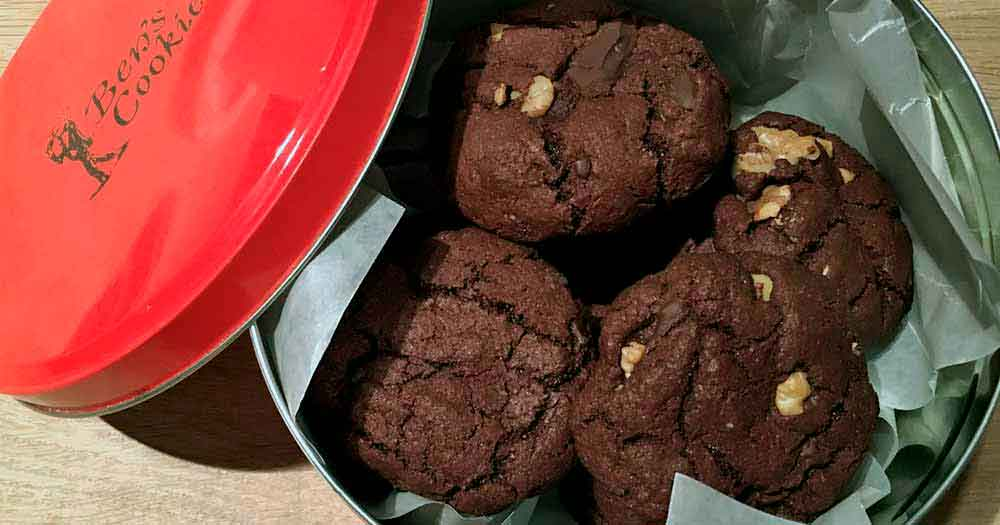 Ben's Cookies chokolade opskrift