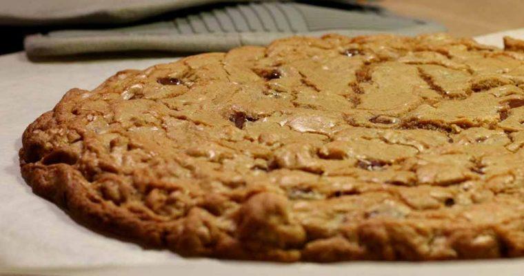 Giant cookie med fuldkorn