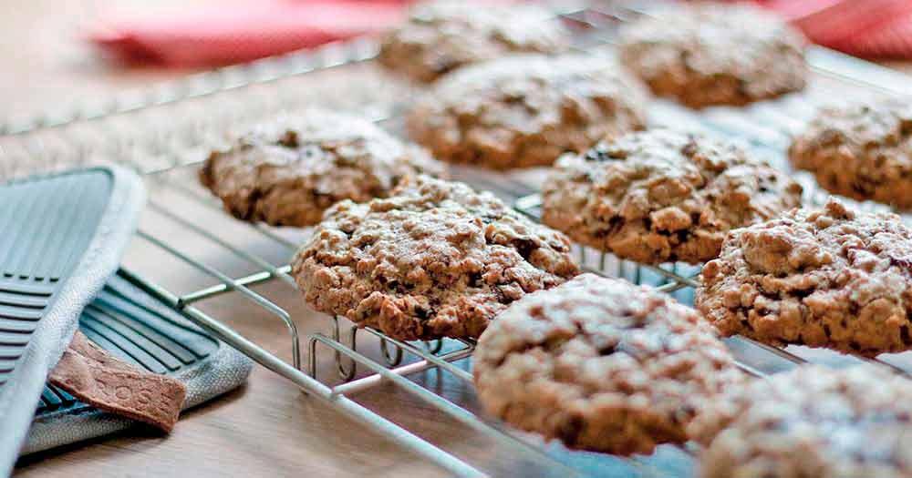 glutenfri havregrynscookies opskrift