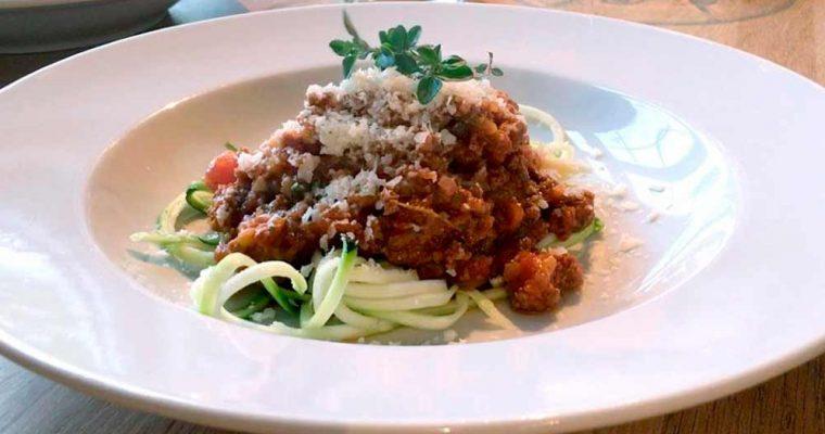 Sund spaghetti med kødsauce