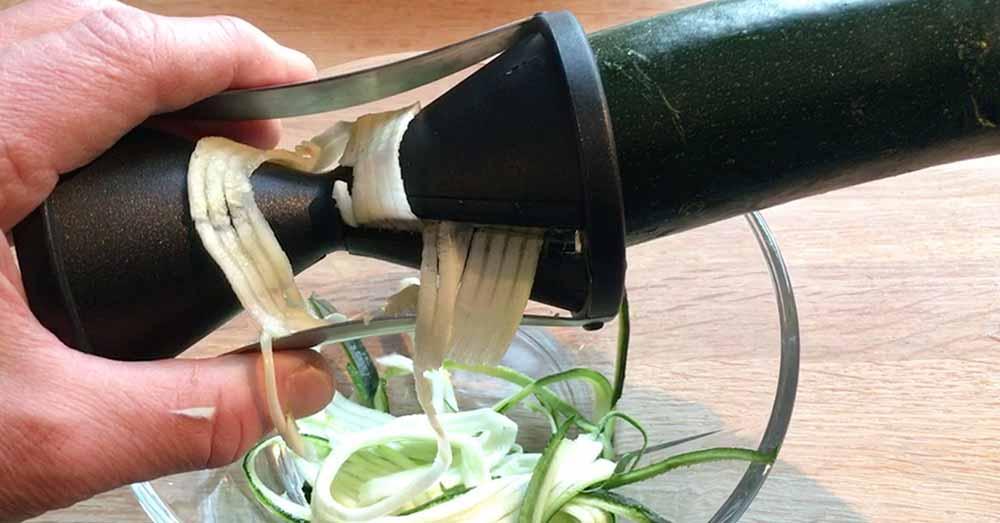 sundere squash spaghetti spiralizer