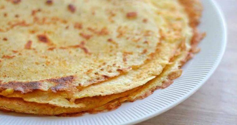 Glutenfri pandekager med majsmel
