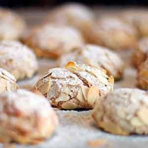 Bocconcini italienske mandelkager nytår kransekage opskrift