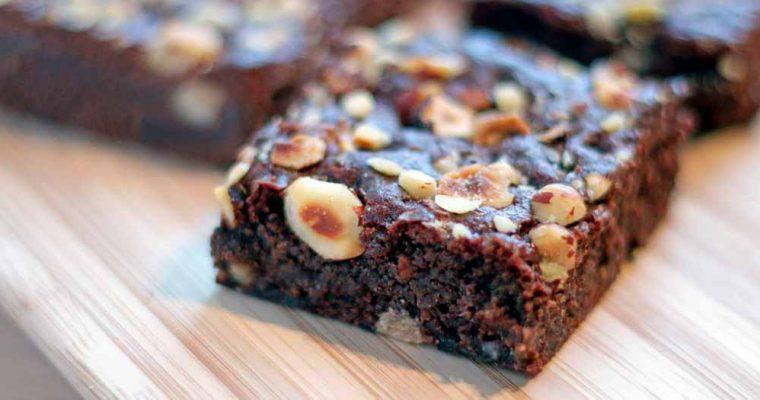 Glutenfri brownie uden sukker*