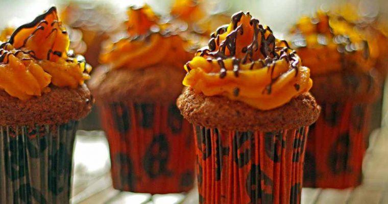 Gulerodsmuffins med græskarcreme