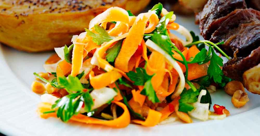 salat fennikel gulerod opskrift