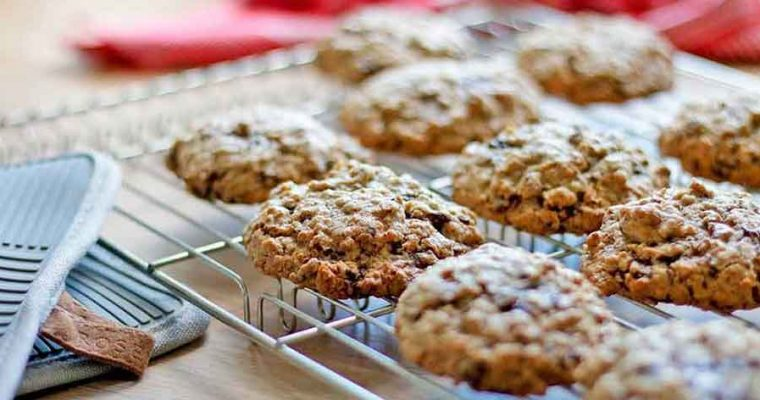 Glutenfri havregryns-cookies