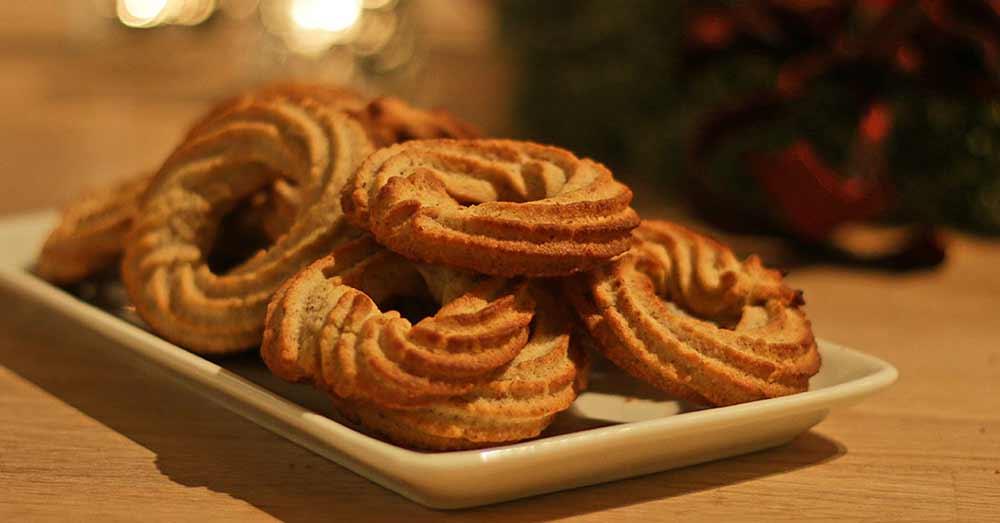 Glutenfri vaniljekranse jul glutenfri julesmåkager småkager hjemmelavet opskrift