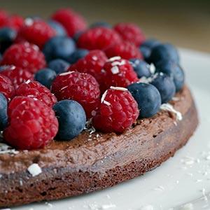 Gateau Marcel sund chokoladekage