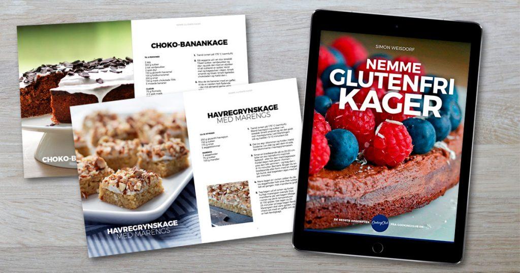 Nemme glutenfri kager e-bog kogebog weisdorf cookingclub.dk