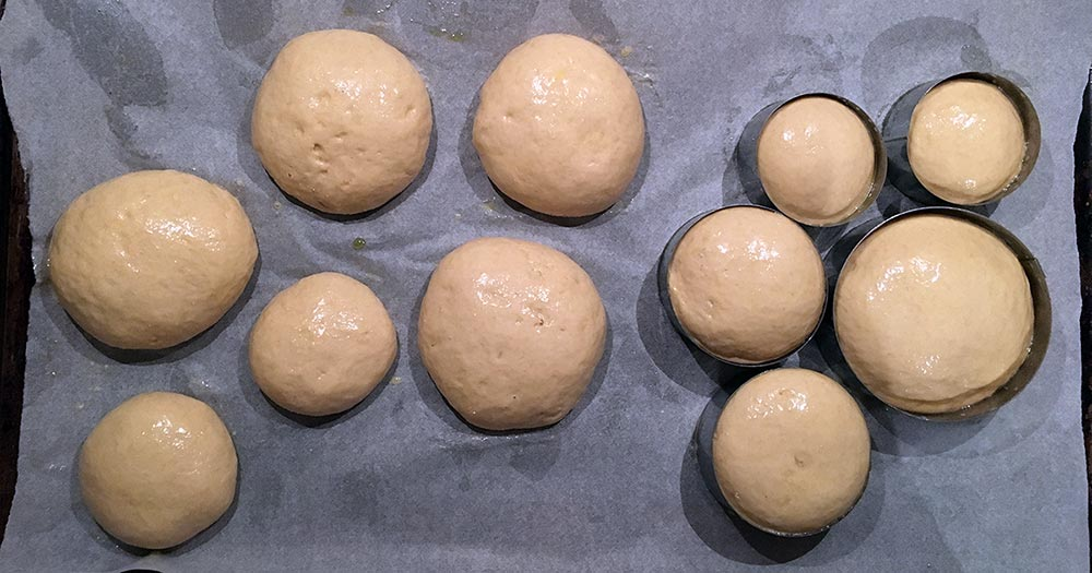 Brioche-burgerboller opskrift hjemmelavet fuldkorn