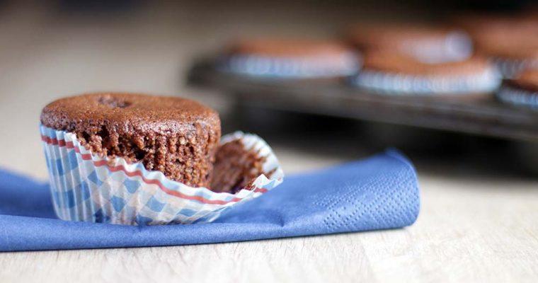 Glutenfri kirsebær-muffins
