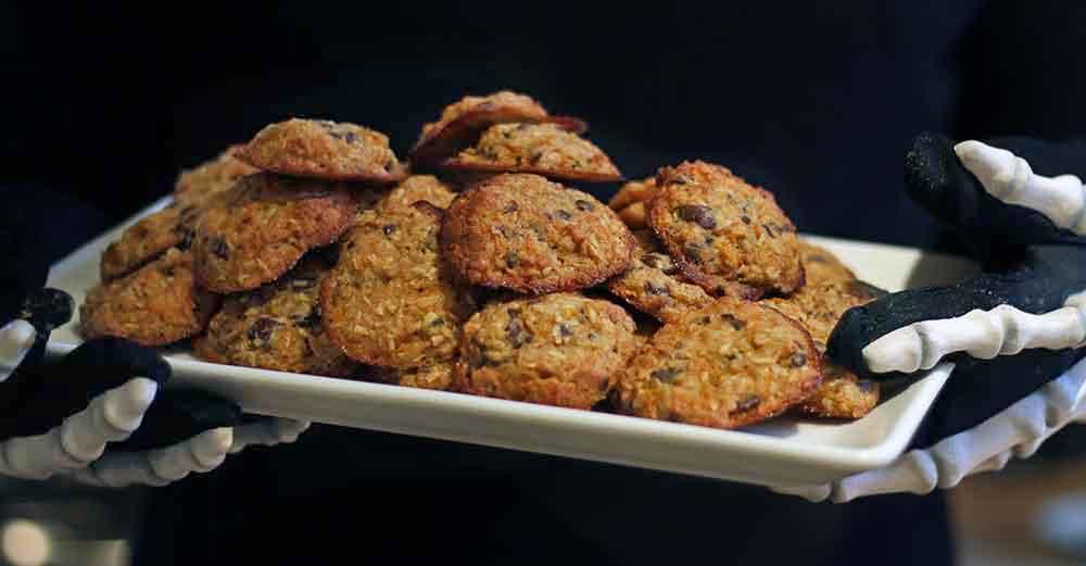 glutenfri halloween cookies kager hjemmelavet opskrift