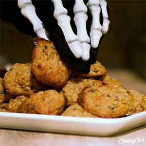 Glutenfri Halloween: Sundere cookies ... med græskar