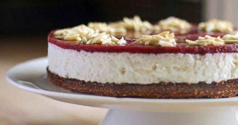 Glutenfri risalamande cheesecake