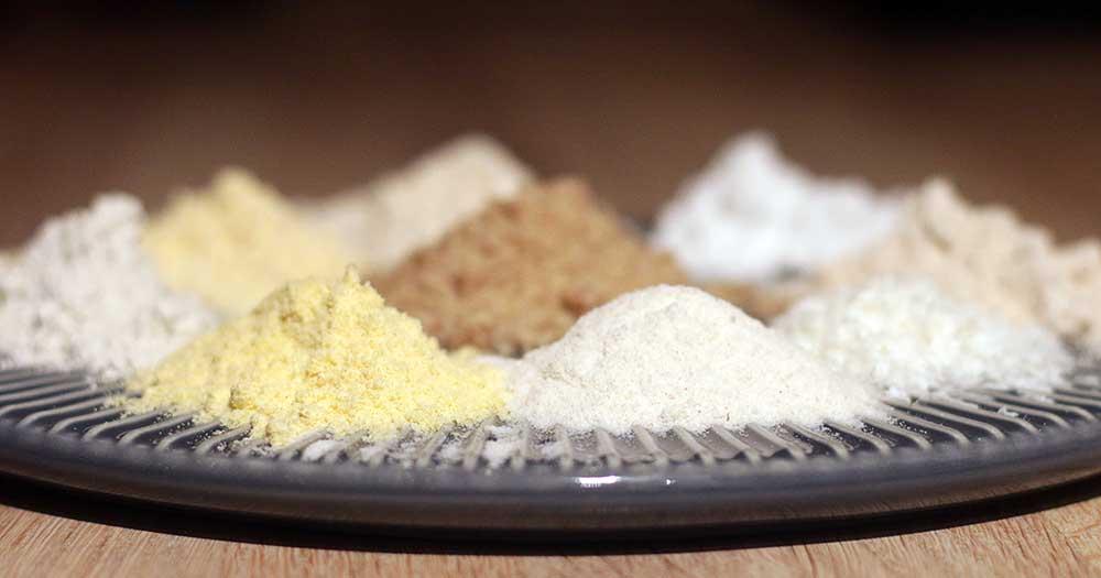 Glutenfri mel meltyper havremel rismel kokosmel mandelmel boghvedemel majsmel bagning kager brød