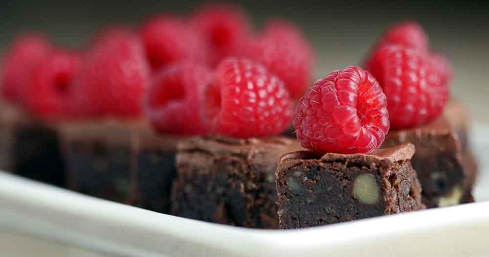 glutenfri brownie pekannødder opskrift sund