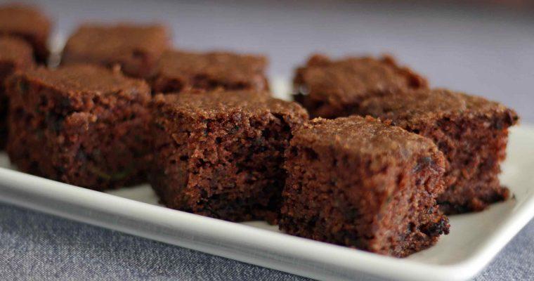 Glutenfri squashkage med chokolade