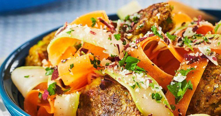 Antiinflammatoriske falafler med havregrød