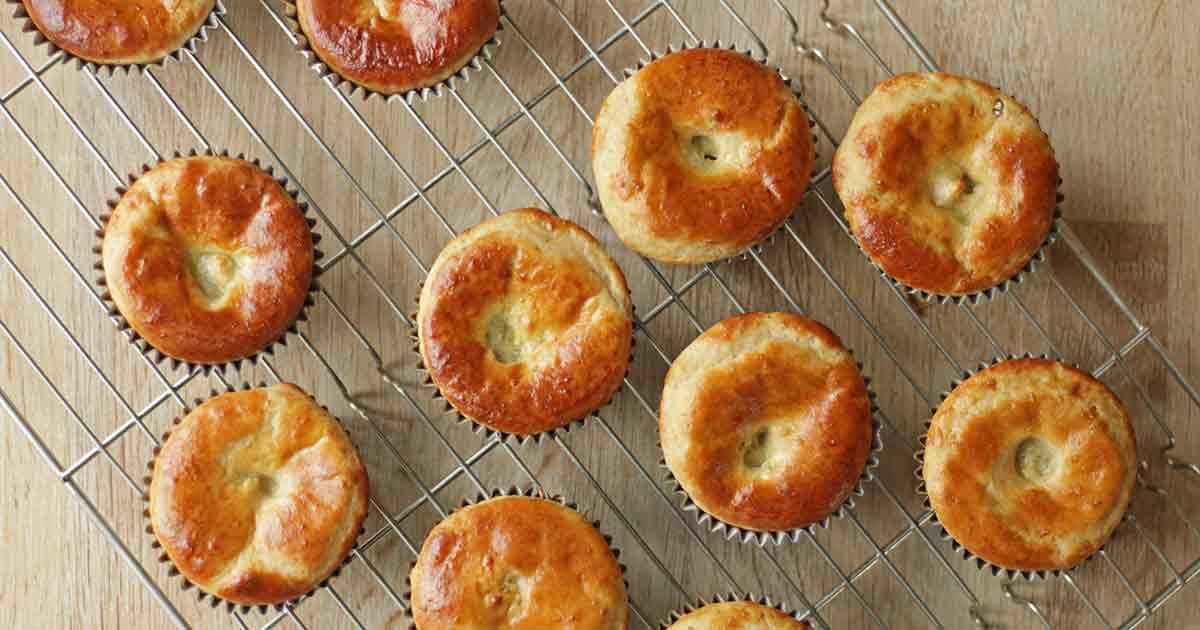 opskrift glutenfri fastelavnsboller muffins