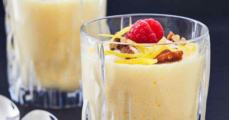 Antiinflammatorisk citronfromage uden fløde