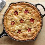 opskrift glutenfri rabarber tærte rhubarb pie