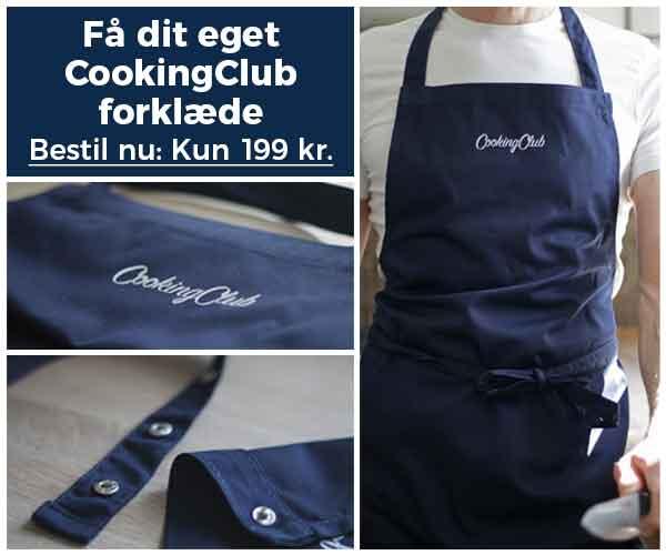 køb cookingclub forklæde