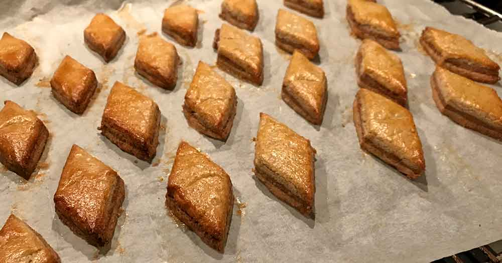 glutenfri jul småkager opskrift