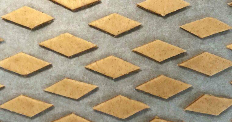Glutenfri småkager med marcipan og nougat