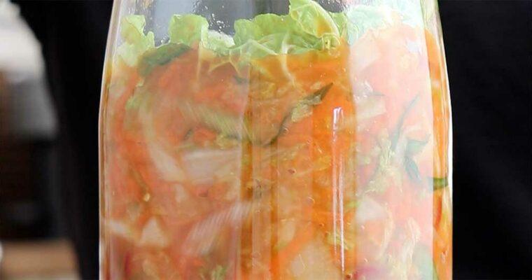 Kimchi – nem og hurtig fermenteret kål